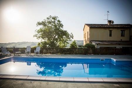 pool in early morning