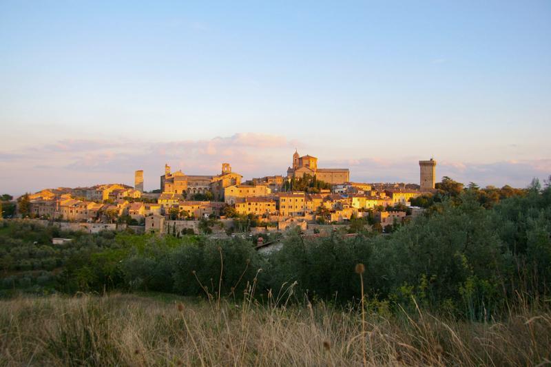 View over Lucignano