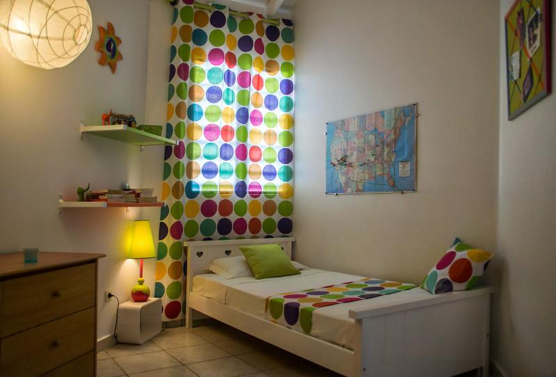 Room no. 4: colourful atmosphere!