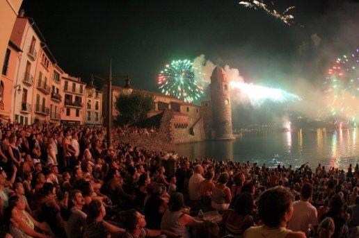FESTIVAL OF ST VICENS HEART OF OLD Collioure