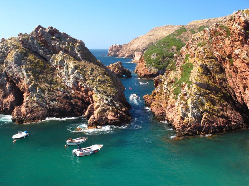 visiter l'île de Berlenga par bateau