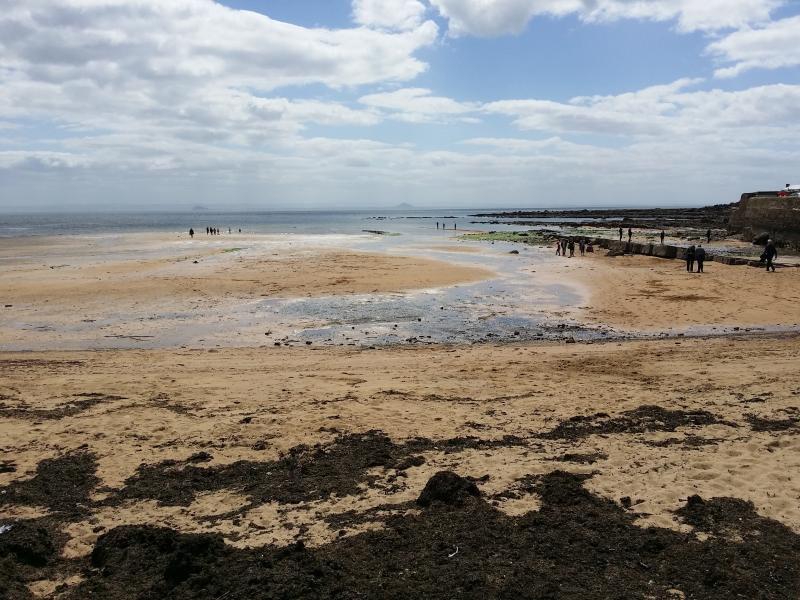 Anstruther beach at low tide