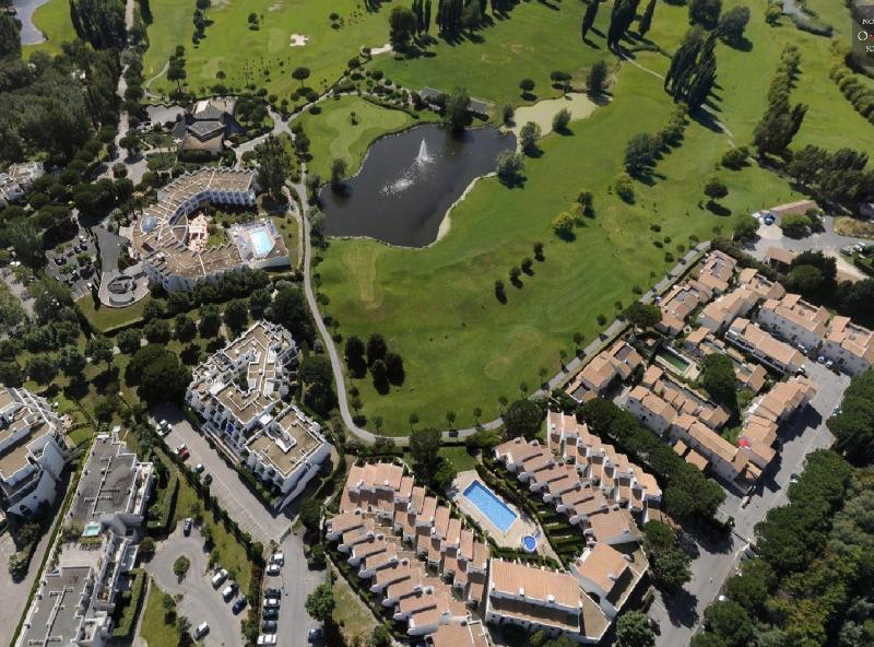 luchtfoto van de residentie