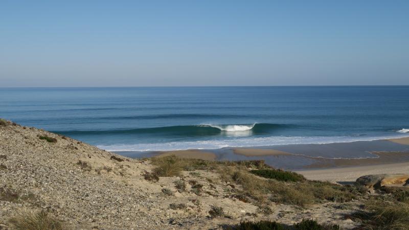 plages vides, spots de surf, beaucoup de soleil
