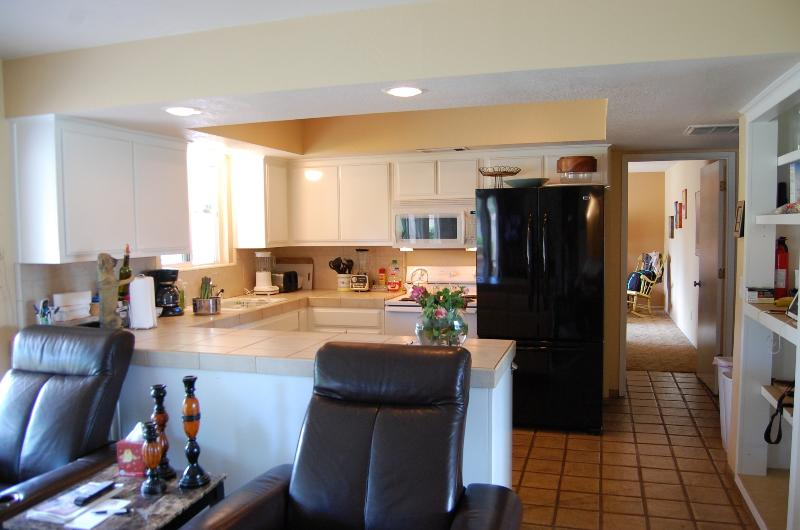 Wonderful kitchen with everything you will need including second fridge in garage