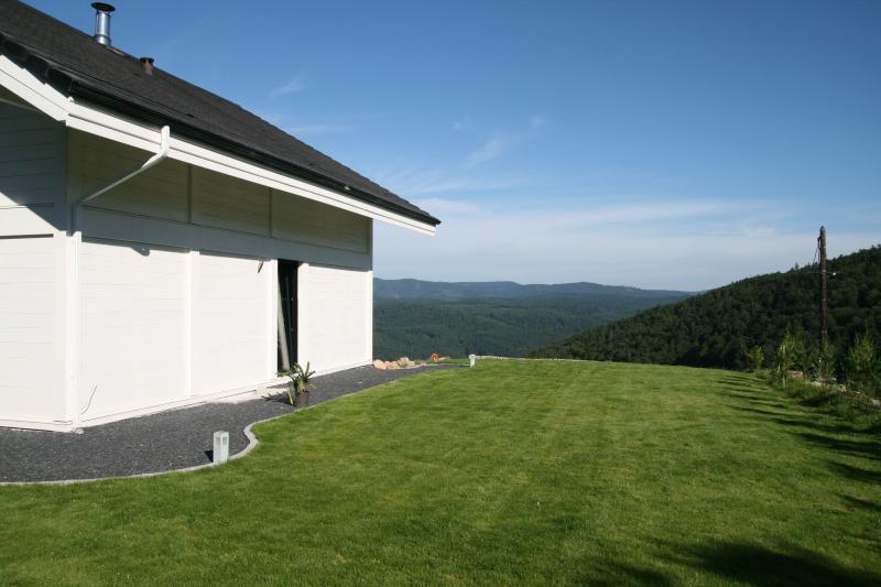 un chalet à 700m d'altitude   avec vue sur les Vosges