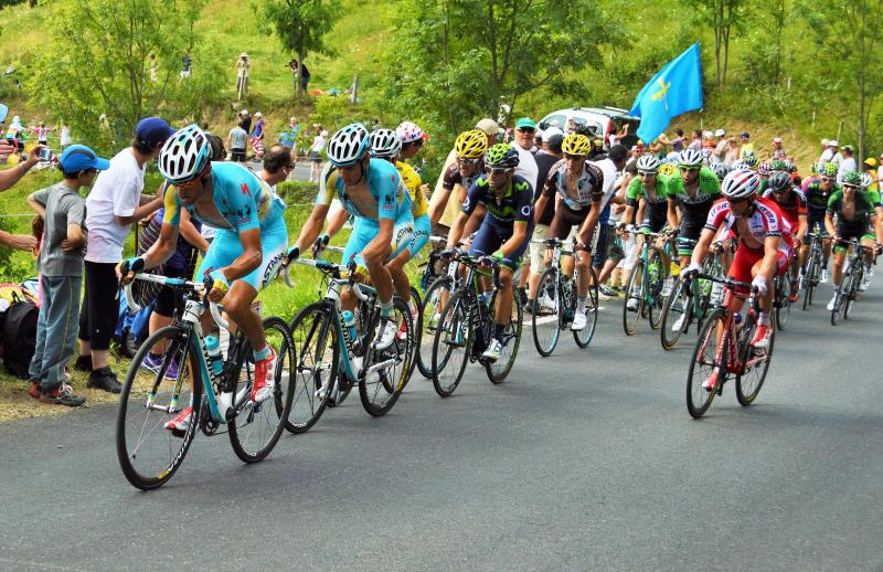 The Tour de France passes through the area every year