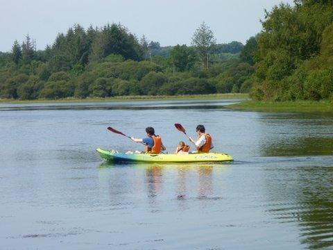 Kayak sur lac privé à 300 m
