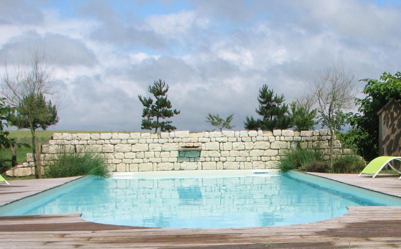 Parc & piscine d'été chauffée - La Racaudière - Villandry - Touraine