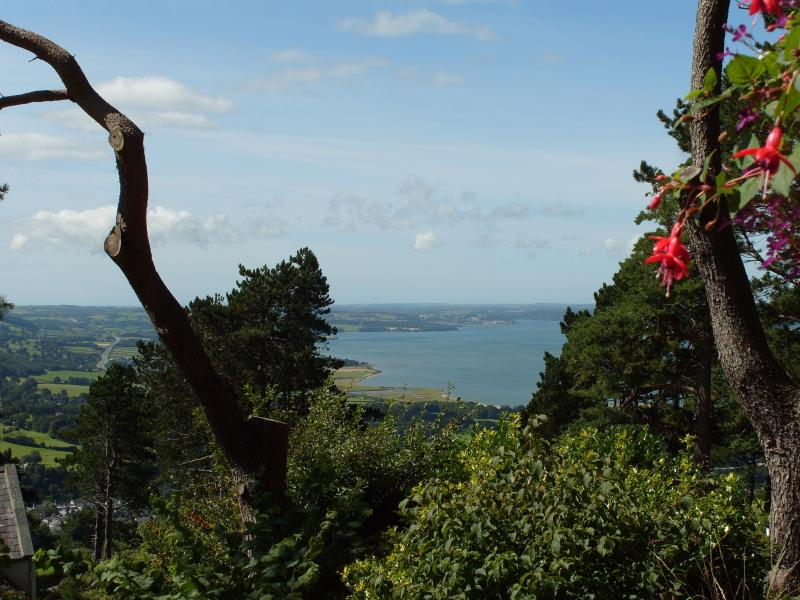 Menai Strait from Aber Cottage