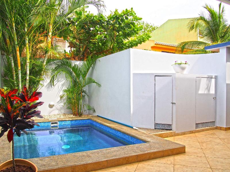 Private Pool - perfect to cool down after a day on the beach