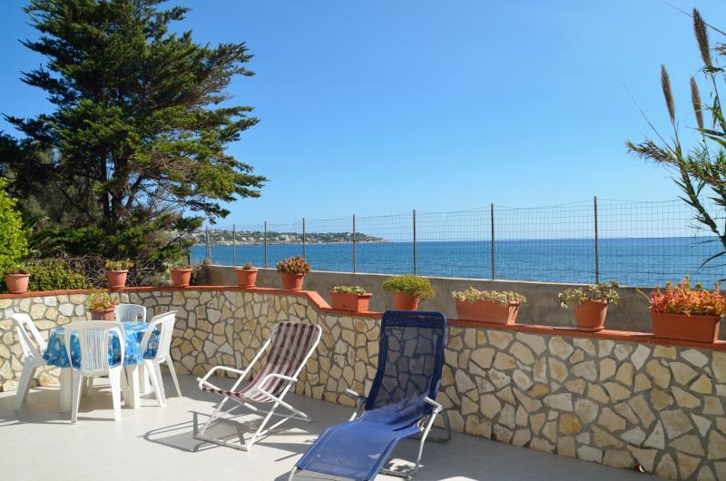 Veranda privata sul mare