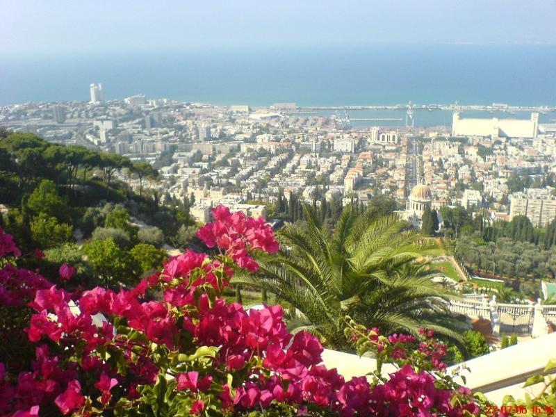 Haifa - mountain and sea