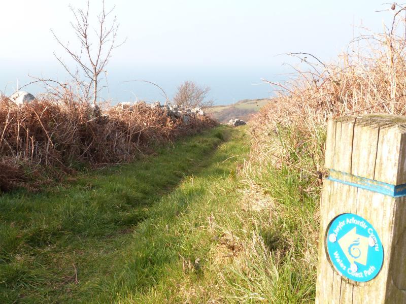 Camino de la costa Gales todo está en tu puerta