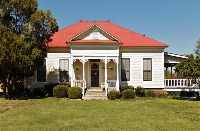 Maison de ferme victorienne du XIXe siècle