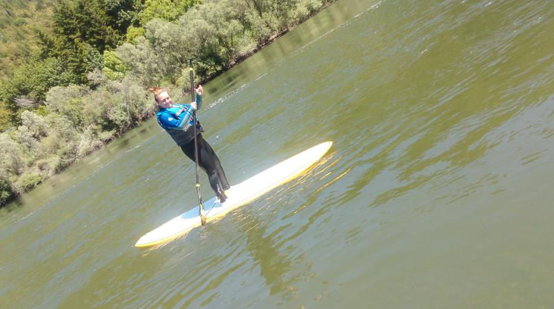 SUP on Rogue River