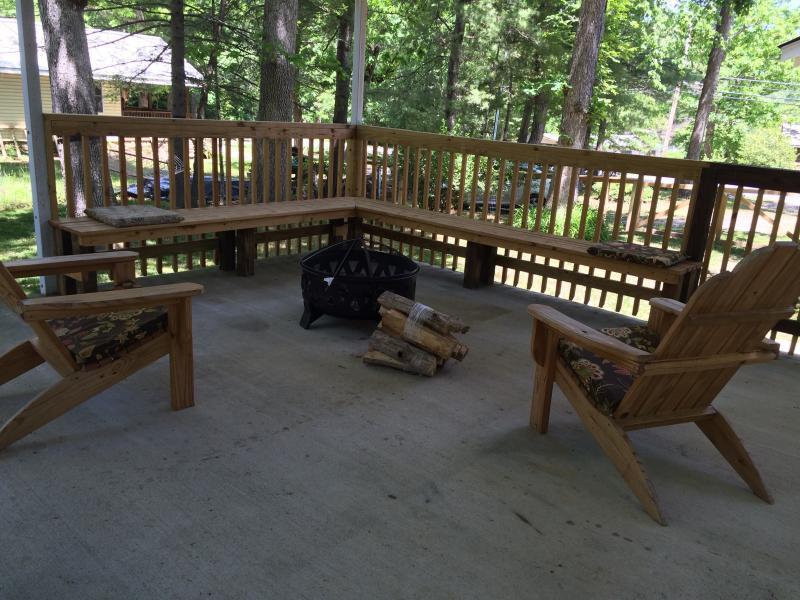 Pavilion in back yard