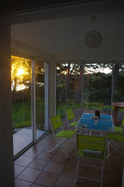 Veranda and Sunset