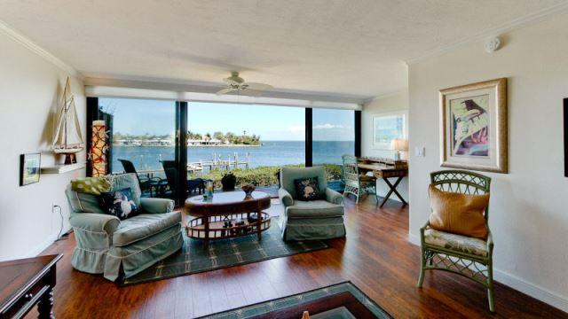 Breathtaking views from your luxurious living room area