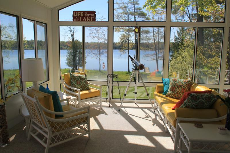 Relax and Enjoy the View On The Sun Porch