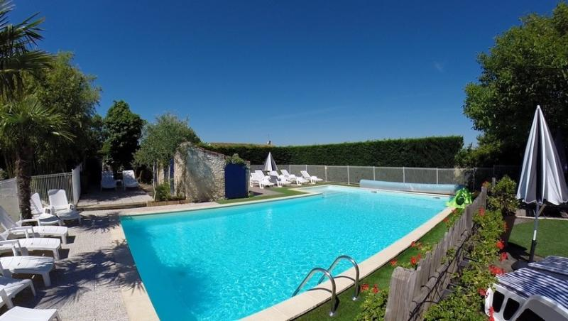 12m x 6m Heated and Fenced shared swimming pool