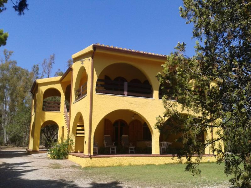Villa indipendente vicino al mare in Sardegna, casa vacanza a Cardedu