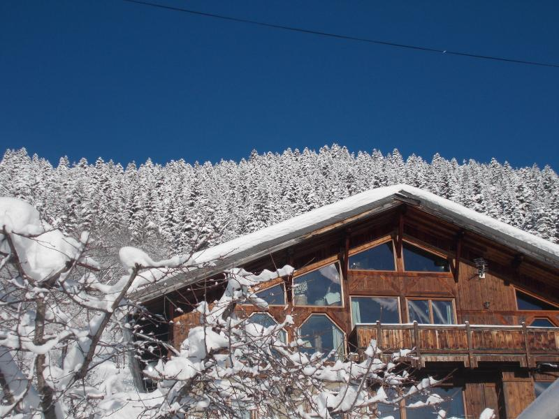 Stunning Chalet Savoie Faire in winter.