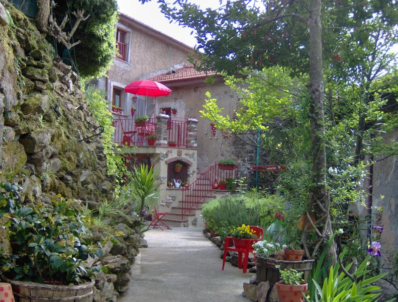 Charming little house in the chestnut forest. Private location in the village.