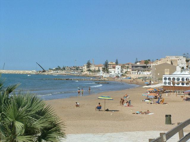 wide beach of marina di ragusa, close to home, sea, Sun, and fun