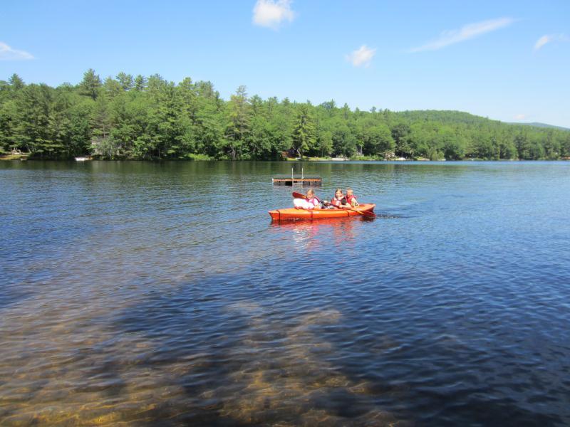 Kayaking on Moose Pond