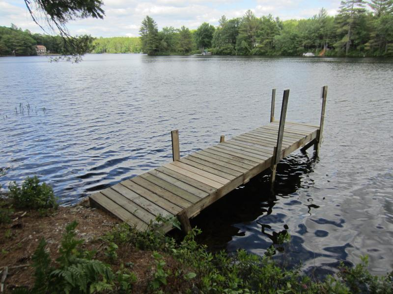 Your own dock - view from cottage