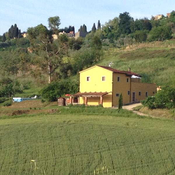 Appartamento  Eucalipto, holiday rental in Casciana Alta