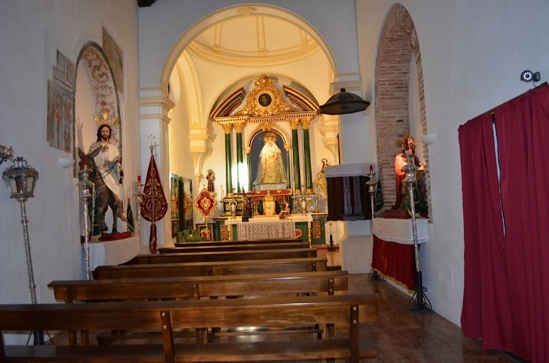 A BEAUTIFUL CHURCH IN ORANGE SQUARE IN THE OLD TOWN OF MARBELLA