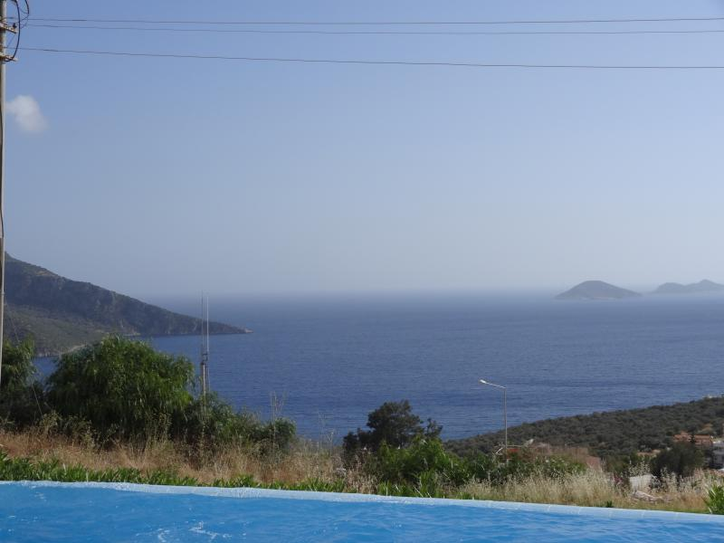 view from the large infinity pool