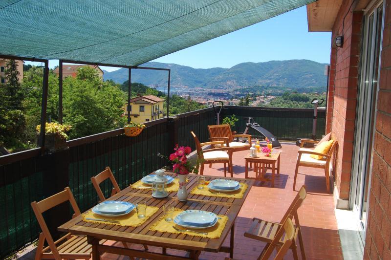 lunch on the veranda