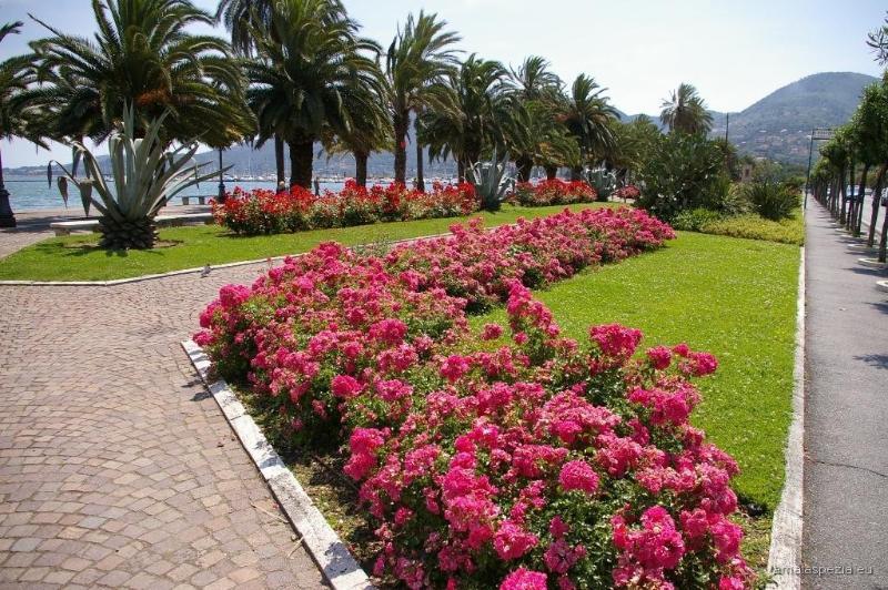 La Spezia (Golfo dei Poeti), Giardini Pubblici, Passeggiata Morin