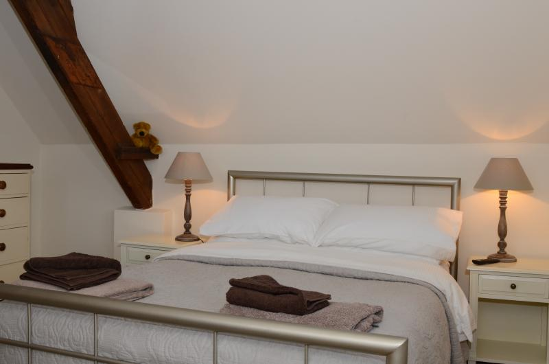 Comfortable beds with quality bedding and towels