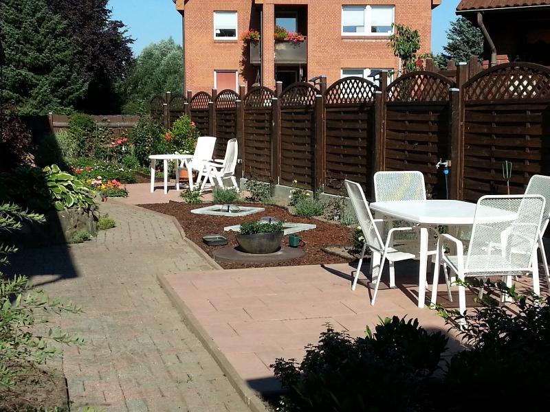 Tuin voor onze gasten