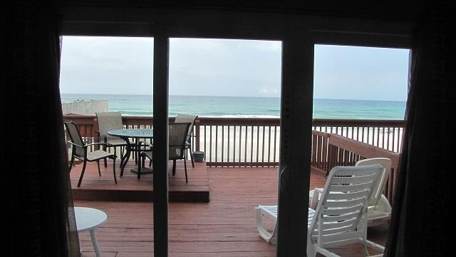 Deck overlooking Beach