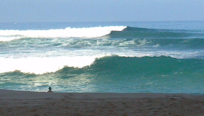Fun waves to swim, surf or boogie board!