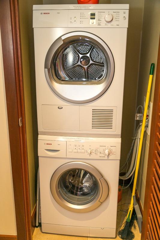 In Suite Washer & Dryer