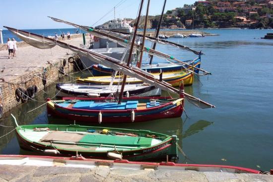 Barques Catalanes à Collioure (2km)