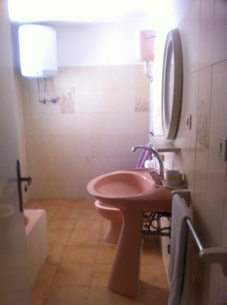 hygiënische service uitgerust met bad