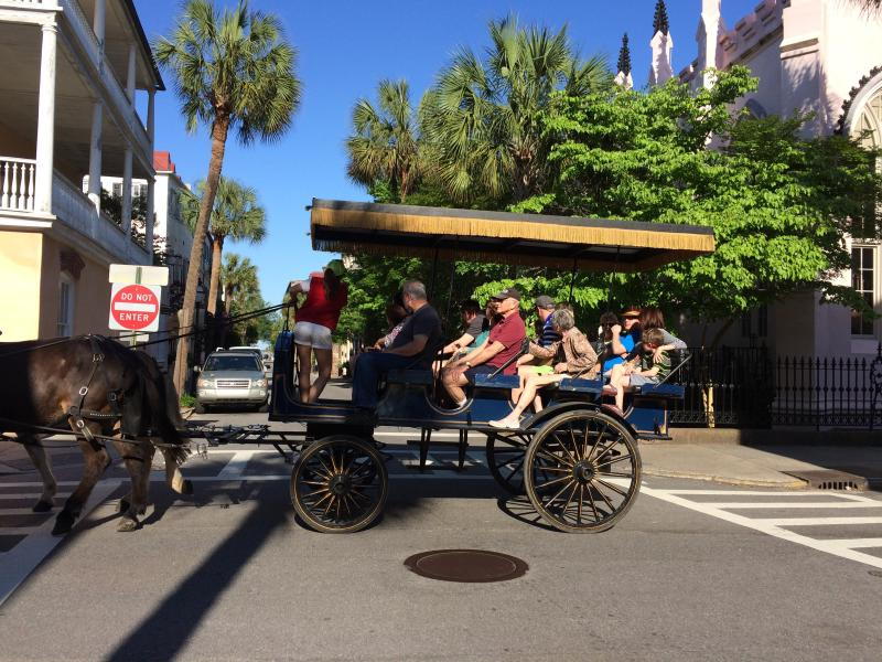 Take a ride on Charleston's Carriage tours