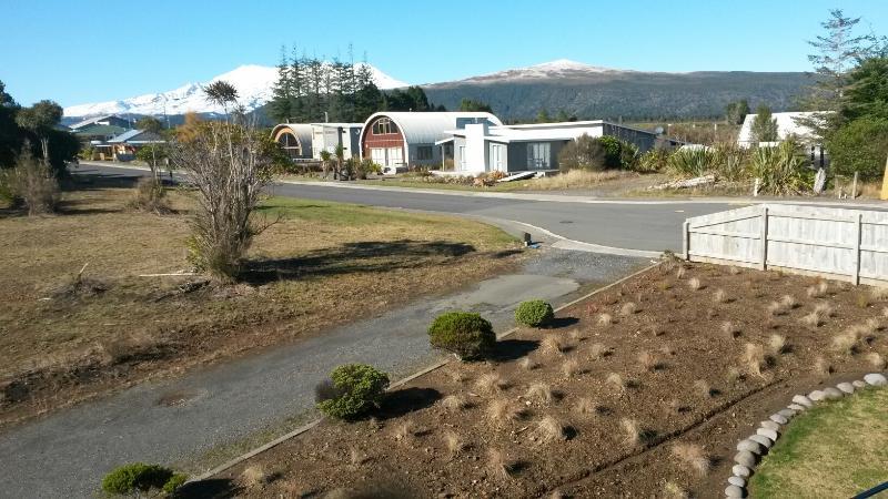 View of Tongariro National Park