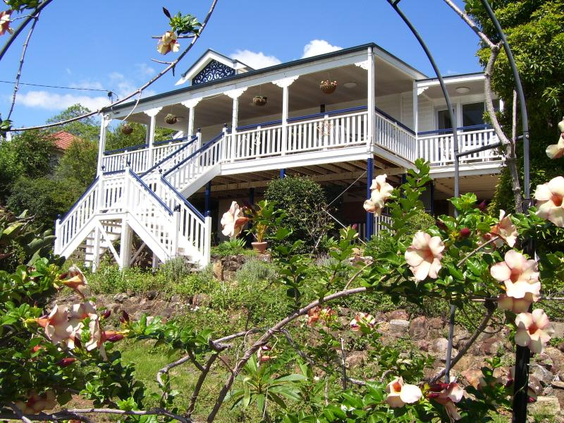 Boonah Hilltop Cottage front view