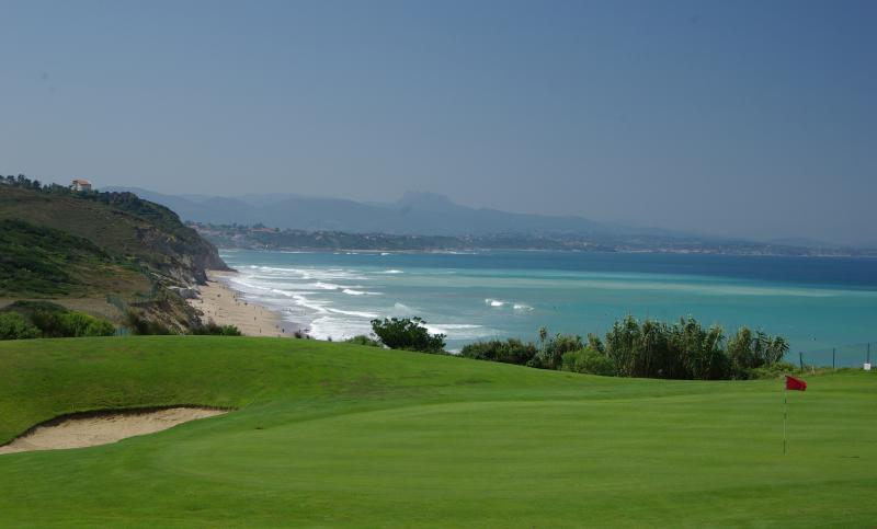 View from the Ilbarritz golf