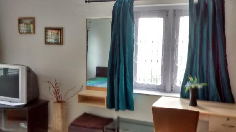 1st floor 2nd bedroom with writing table, A/c, TV and attached bath
