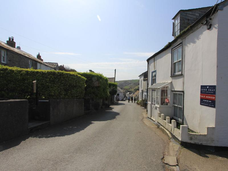 The streets of Port Isaac