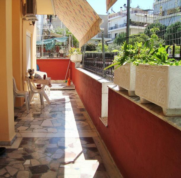 Райское местечко в мегаполисе, holiday rental in Ilioupoli